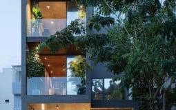 Biệt thự xanh mát được thiết kế theo phong thủy tại Quận 7, TP. HCM