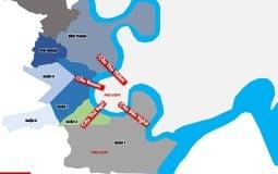 Đề xuất đặt tên cho 4 cây cầu bắc qua Thủ Thiêm