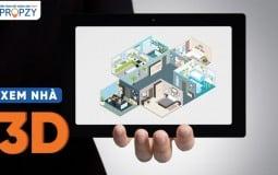 Công nghệ Xem Nhà 3D - nền tảng bất động sản THẬT