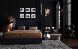 Tham khảo những mấu phòng ngủ đen sang trọng, ấn tượng