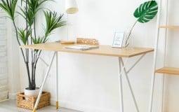 Trang trí bàn làm việc theo phong cách Hàn Quốc