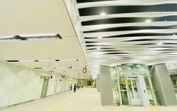 Ga Ba Son tuyến Metro số 1 Bến Thành - Suối Tiên đã hoàn thành tầng hầm B1
