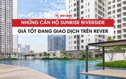 Danh sách và thông tin các căn hộ Sunrise Riverside giá tốt trên sàn giao dịch