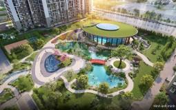 Hình ảnh thực ảnh thực tế về phân khu dự án mang đậm phong cách xứ sở Phù Tang