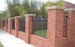 Điểm qua một số mẫu hàng rào xây gạch đẹp