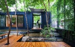 """Mac & Ham House: """"Ngôi nhà container"""" độc đáo và kết nối với thiên nhiên"""