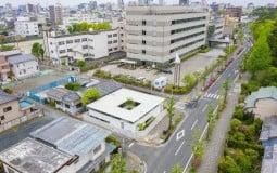 Toyohashi House: Nhà 1 tầng giáp 3 mặt phố với thiết kế chống ồn hiệu quả