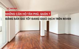 Cập nhật thông tin các căn hộ Tân Phú, Quận 7 giá tốt trên sàn giao dịch