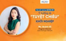 """Chia sẻ của """"bà mối"""" startup Quỳnh Võ về vấn đề ý tưởng trong khởi nghiệp"""