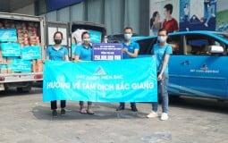 Theo chân Đất Xanh Miền Bắc ủng hộ Bắc Giang đẩy lùi dịch bệnh