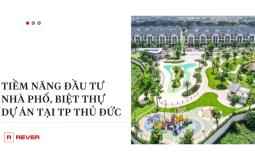 Infographic: Dự án nhà phố, biệt thự TP Thủ Đức năm 2021 có những tiềm năng phát triển nào?
