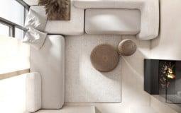 Thêm chút mới lạ cho chung cư với phong cách Scandinavian màu trung tính tối giản