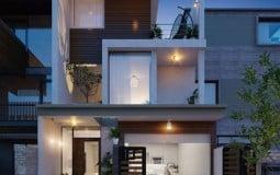 Hiện đại hóa không gian sống với những thiết kế tầng trệt nhà phố