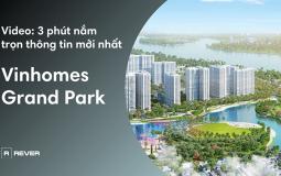 Nắm bắt những thông tin mới nhất về đại đô thị Vinhomes grand park 27ha