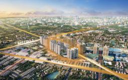 Toà căn hộ mới vừa được ra mắt tại đại đô thị thông minh thuộc Vinhomes
