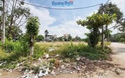 Hướng xử lý nào cho dự án Khu tái định cư ở TP. Quảng Ngãi bị bỏ hoang?