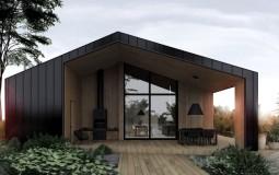 Thiết kế ngôi nhà gỗ hiện đại gần gũi thiên nhiên đẹp khó cưỡng