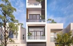 10 mẫu nhà ống 4 tầng đẹp 2021 được kiến trúc sư đánh giá cao