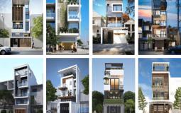 Mẫu nhà phố lệch tầng đẹp và tiết kiệm không gian sống