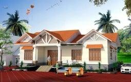 Thiết kế nhà vườn cấp 4 200m2 3 phòng ngủ theo phong thủy