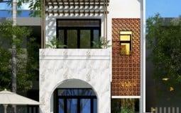 Top 4 mẫu nhà 2 tầng 5x16m 3 phòng ngủ đẹp hiện đại tiện nghi