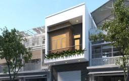 Tư vấn thiết kế nhà 2 tầng 4x10m hiện đại, nhỏ nhưng tiện nghi