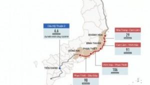 Infographic: Lộ trình 11 dự án cao tốc Bắc Nam