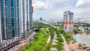 Cập nhật tiến độ mới nhất của Tổ hợp căn hộ Eco Green Sài Gòn tháng 7/2020