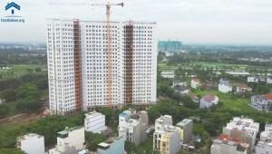 Tiến Độ Dự Án Saigon Intela Tháng 08/2020