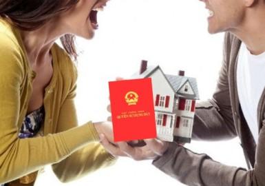 Hình ảnh 3 cách ghi tên trên sổ đỏ khi vợ chồng cùng mua nhà đất