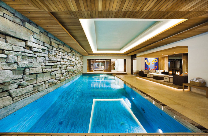 Một số điểm lưu ý khi thiết kế hồ bơi