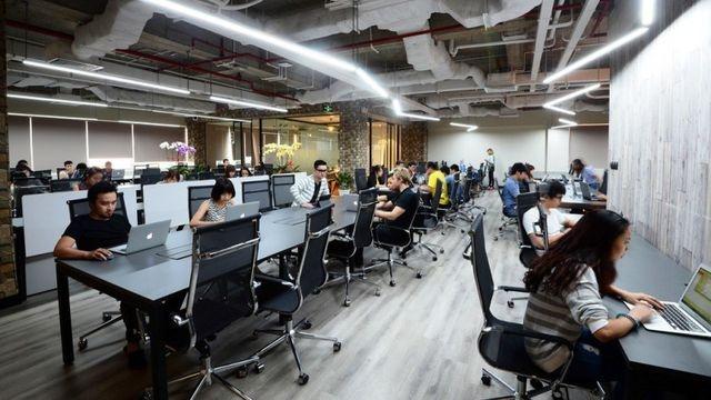 Doanh nghiệp ở Trung Quốc đổ bộ thuê văn phòng tại TP.HCM