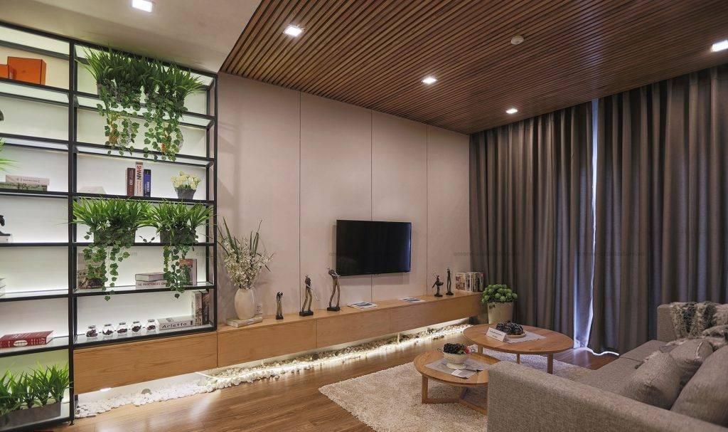 Thiết kế trần gỗ đẹp