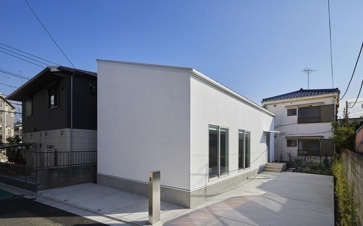 Ấn tượng với không gian xanh mát bên trong ngôi nhà 95m2 tại Nhật