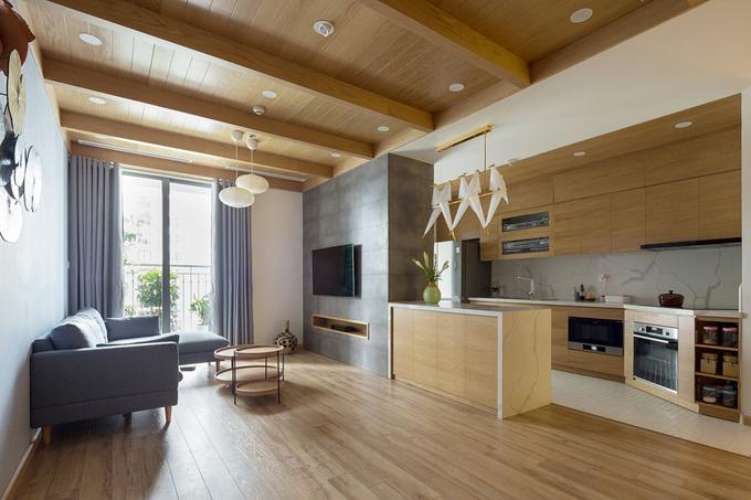 Phong cách Nhật Bản bên trong căn hộ 132m2 tại Hà Nội