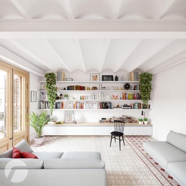 Ấn tượng với không gian hiện đại bên trong căn hộ mang phong cách Bắc Âu