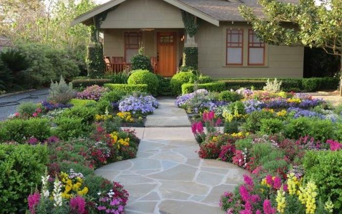 Thiết kế sân vườn trước nhà, cần lưu ý những gì?