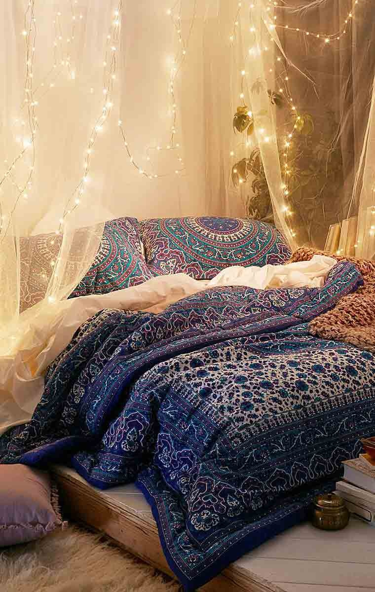 10 ý tưởng trang trí giáng sinh phòng ngủ với đèn led » Thông tin Dự án -  Cập nhật tin tức Bất Động Sản mới nhất