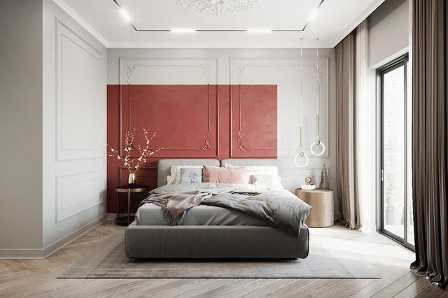 Tổng hợp các mẫu phòng ngủ màu đỏ sang trọng