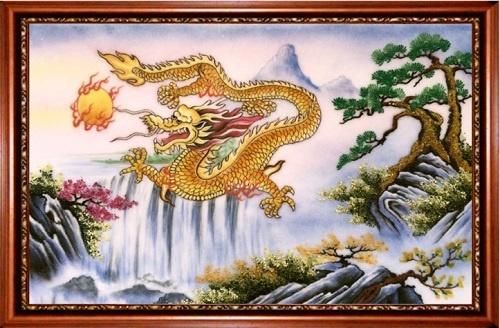 Treo tranh rồng phong thủy và những điều bạn chưa biết